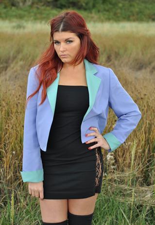 Pastel vintage blazer